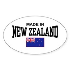 Made In New Zealand Decal