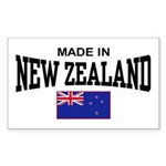 Made In New Zealand Sticker (Rectangle)