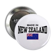"""Made In New Zealand 2.25"""" Button"""