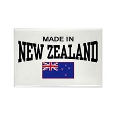 Made In New Zealand Rectangle Magnet