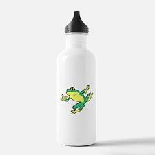 ASL Frog in Flight Water Bottle
