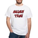 Muay Thai White T-Shirt