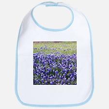 Texas Field of Blue Bib