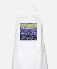 Texas Field of Blue BBQ Apron