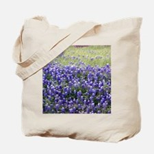 Texas Field of Blue Tote Bag