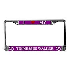 Purple I Love My Tennessee Walker Frame