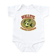 walleye fish Infant Bodysuit