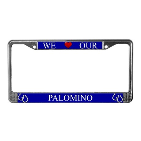 Blue We Love Our Palomino Frame