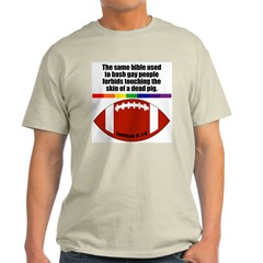PIGSKIN Ash Grey T-Shirt