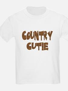 country cutie Kids T-Shirt