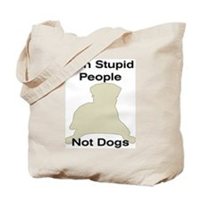 Unique Breed ban Tote Bag