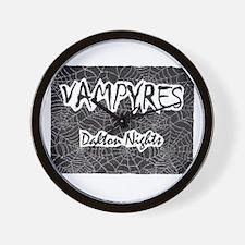 Vampyres: Dalton Nights Spide Wall Clock