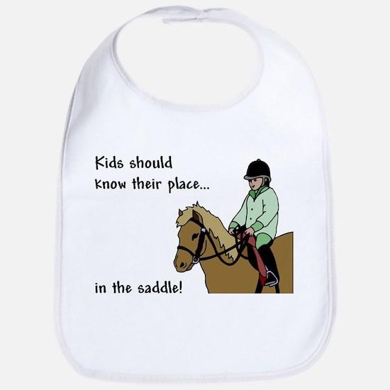 kids should ride Bib