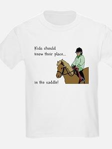 kids should ride Kids T-Shirt