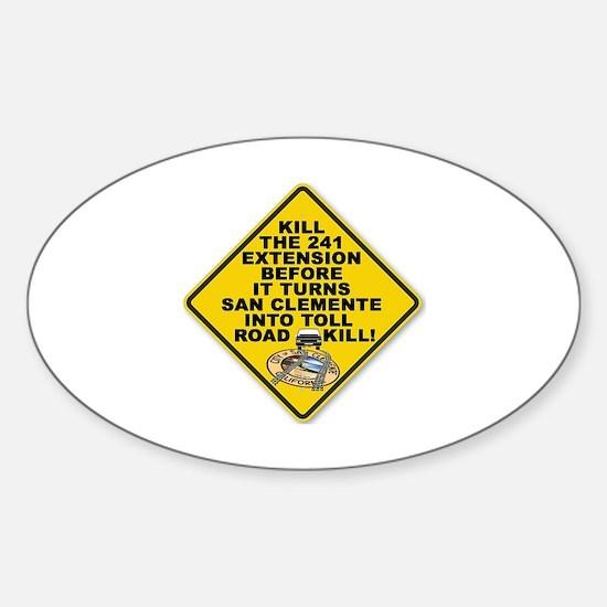 Cute %241 Sticker (Oval)