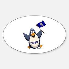 Kansas Penguin Decal