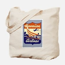 Retro Hawaiian Air Tote Bag