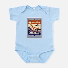 Retro Hawaiian Air Infant Creeper
