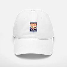 Retro Hawaiian Air Baseball Baseball Cap