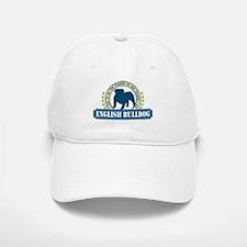 English Bulldog Baseball Baseball Cap