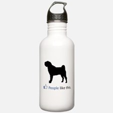 Chinese Shar-Pei Water Bottle