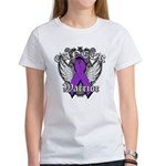 Pancreatic Cancer Warrior Women's T-Shirt