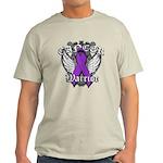 Pancreatic Cancer Warrior Light T-Shirt