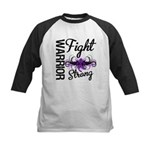 Fight Strong Pancreatic Cancer Kids Baseball Jerse