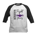 Fight Strong Pancreatic Cancer Kids Baseball Jerse
