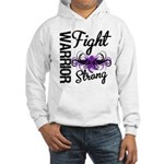 Fight Strong Pancreatic Cancer Hooded Sweatshirt