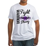 Fight Strong Pancreatic Cancer Fitted T-Shirt