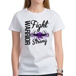 Fight Strong Pancreatic Cancer Women's T-Shirt