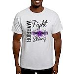 Fight Strong Pancreatic Cancer Light T-Shirt