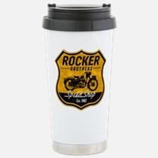 Vintage Cafe Racer Stainless Steel Travel Mug