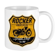 Vintage Cafe Racer Small Mug