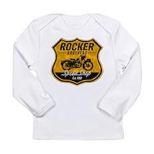 Vintage Cafe Racer Long Sleeve Infant T-Shirt
