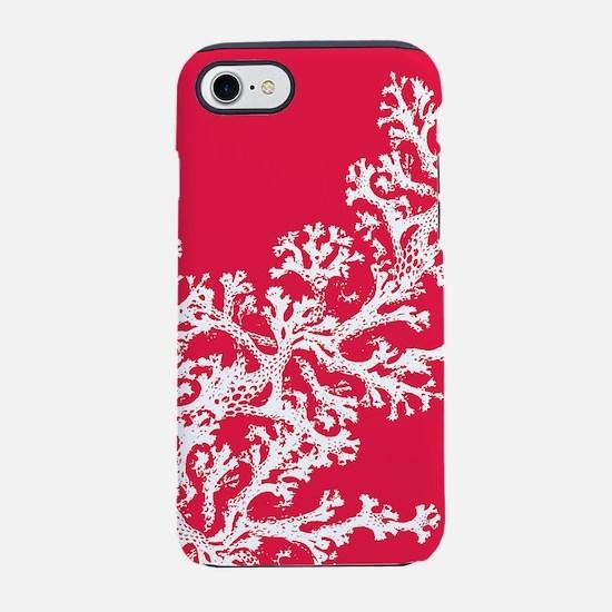 Coral Pattern iPhone 7 Tough Case