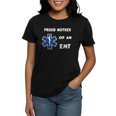 Proud EMT Mother Women's Dark T-Shirt