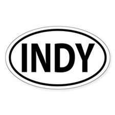 Indianapolis, INDY Oval decal Decal
