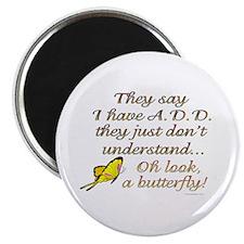 ADD Butterfly Magnet