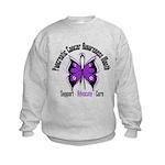 Pancreatic Cancer Month Kids Sweatshirt