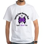 Pancreatic Cancer Month White T-Shirt
