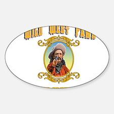 Funny Cave creek arizona Sticker (Oval)
