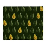 Avocado Fleece Blankets