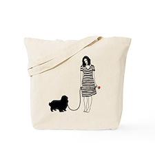 English Toy Spaniel Tote Bag
