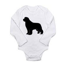 Newfoundland Silhouette Long Sleeve Infant Bodysui