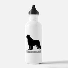 Newfoundland Silhouette Water Bottle