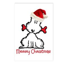 Dog Christmas Postcards (Package of 8)