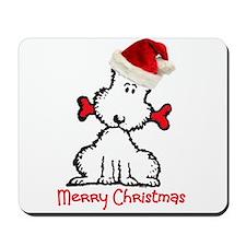 Dog Christmas Mousepad