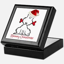 Dog Christmas Keepsake Box